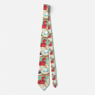 Through The Looking Glass Tie