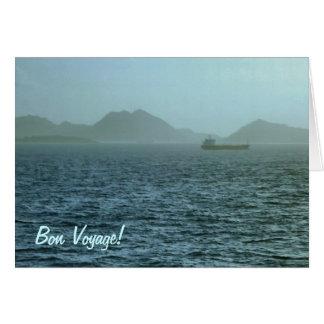 Through the Mist Bon Voyage Card