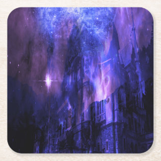 Through the Mists of Time Square Paper Coaster
