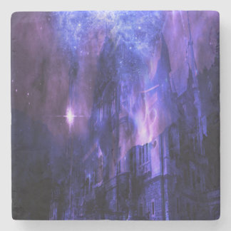 Through the Mists of Time Stone Beverage Coaster