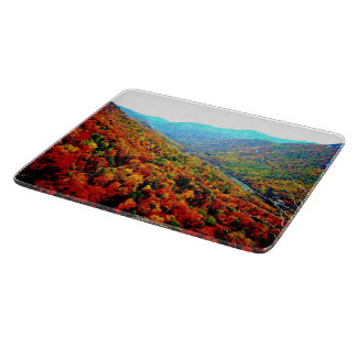 Through The Mountains Cutting Board