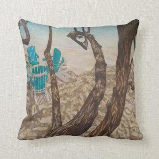 """""""Through the Trees, St John"""" Throw Pillow"""
