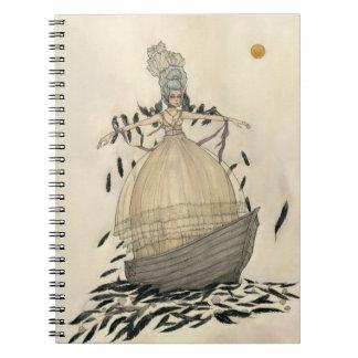 Through the Veil - Notebook