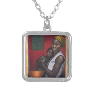 Through the Window 1992 Silver Plated Necklace