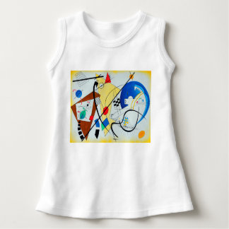 Throughgoing Line by Wassily Kandinsky Dress