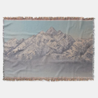 Throw Blanket Afghanistan Mountains
