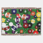 Throw Blanket - Billiards