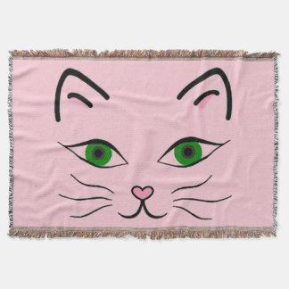 Throw Blanket - Kitty Face