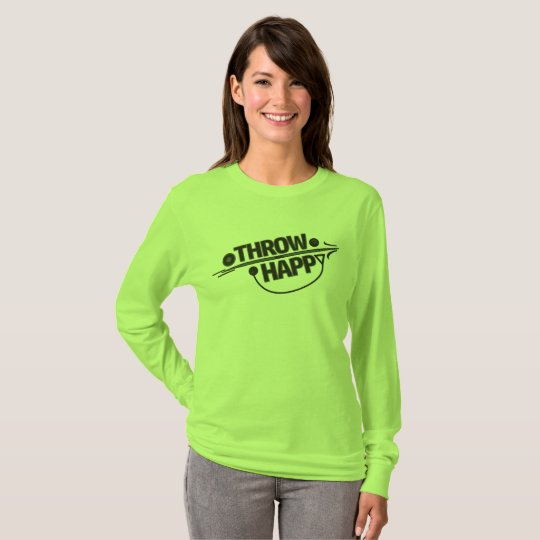 Throw Happy Track and Field Shirt