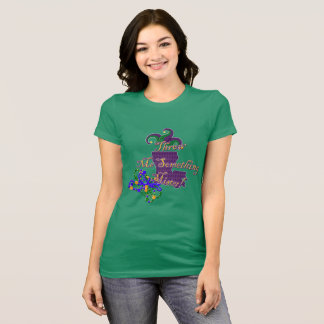 Throw Me Something Mister Mardi Gras T-Shirt