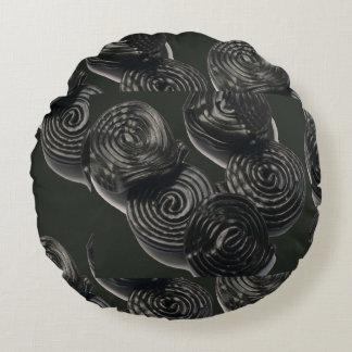 "Throw Pillow (16"") Art Patterns Waves Textures fun Round Pillow"