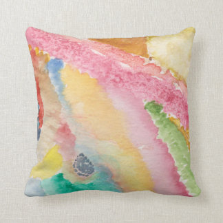 Throw Pillow 16x16 with abstract design