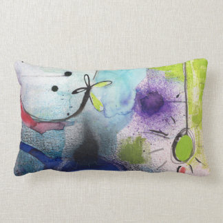Throw Pillow - Abstract Design - Colorful