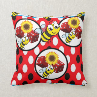 throw pillow decore bumblebee
