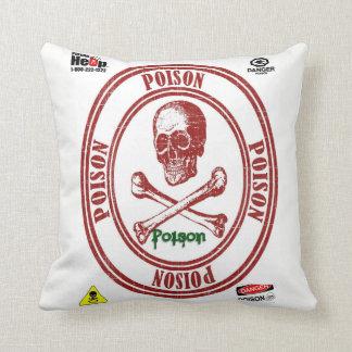throw pillow decore poison
