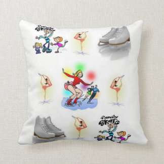 throw pillow decore roller skating