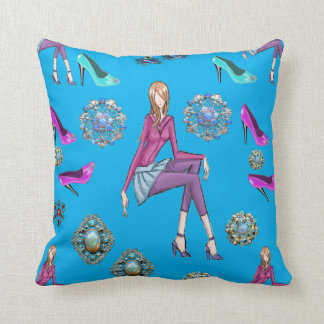throw pillow decore shoes
