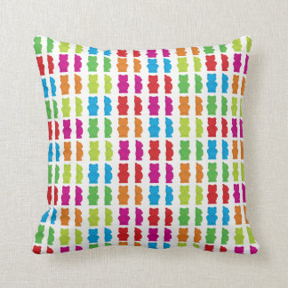 Throw Pillow designed with Gummy Bears