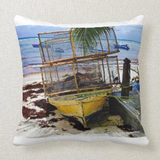 Throw Pillow - Fish Pods - Caribbean