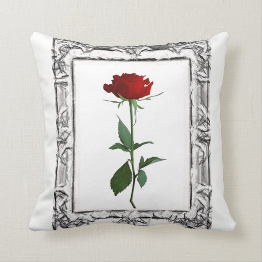 Throw Pillow Floral