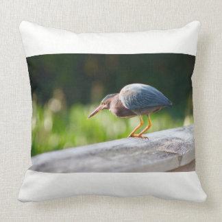 Throw Pillow - Florida Bird - Blue Heron
