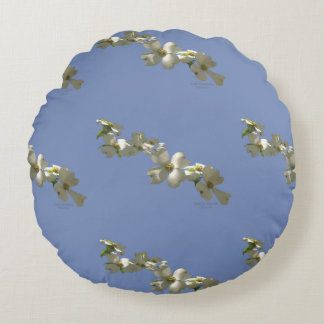 Throw pillow - Flowering Dogwood Tree