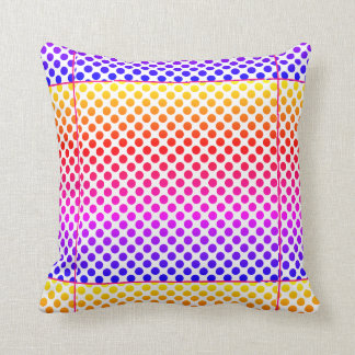 Throw Pillow -Happy Colourful design
