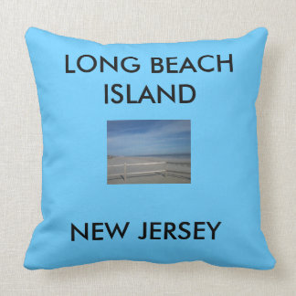throw pillow, LBI throw pillow,Long Beach Island Throw Pillow