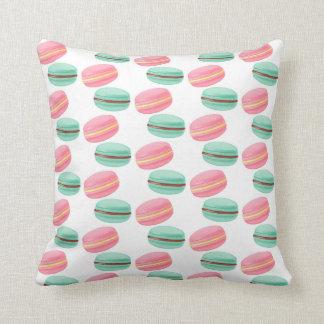 Throw Pillow-Macarons Throw Pillow
