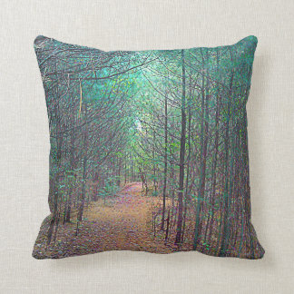 Throw Pillow - Nature Trail Pattern Full Color