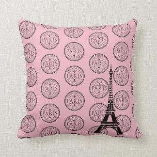 Throw Pillow-Paris Throw Pillow