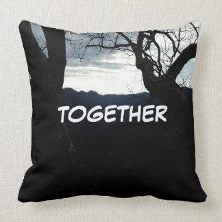 "Throw Pillow (part of set) ""Together"""