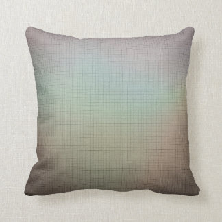 Throw Pillow S -Taupe Background with Muted Shades