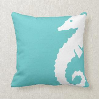 Throw Pillow Seahorse