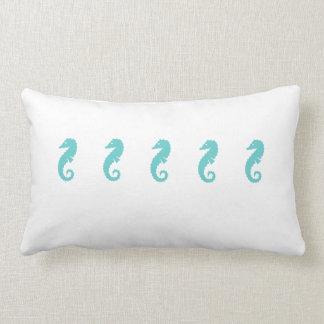 Throw Pillow Seahorses