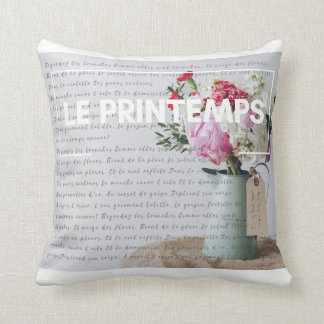 Throw Pillow - Springtime - French Decor