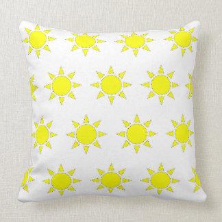 Throw Pillow Sunshine Yellow
