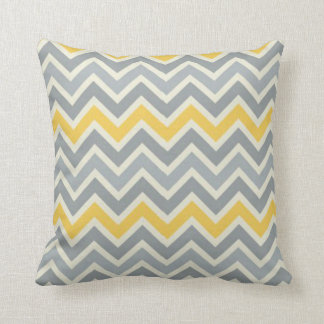 Throw Pillow Yellow and Blue