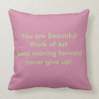 Throw Pillows beautiful quote