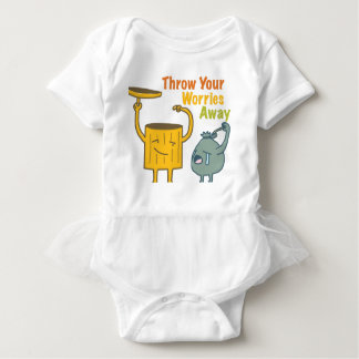Throw Your Worries Away Baby Bodysuit