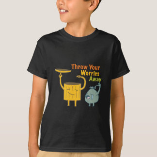 Throw Your Worries Away Kids' Hanes T-Shirt