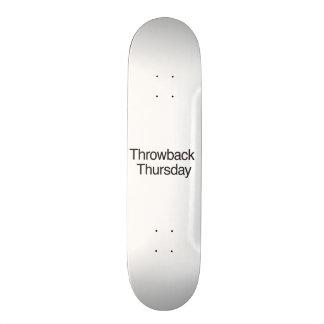 Throwback Thursday Skate Board Deck
