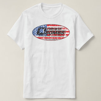 Throwin' Bombs.com: USA T-Shirt