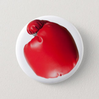 Throwing a punch 2 inch round button