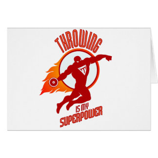 throwing discus is my superpower card