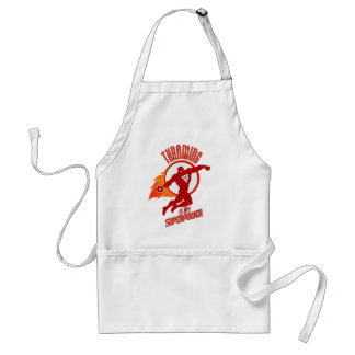 throwing discus is my superpower standard apron