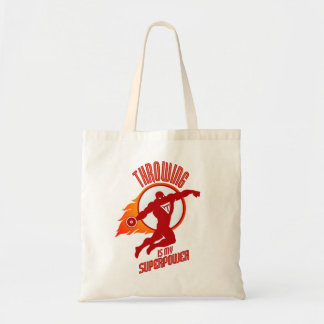 throwing discus is my superpower tote bag