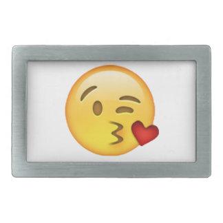 Throwing Kiss - Emoji Belt Buckles