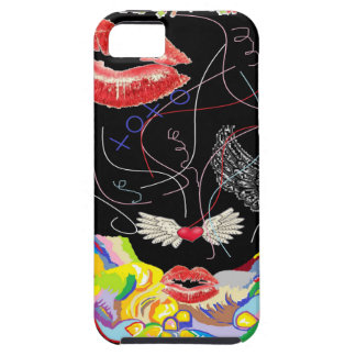Throwing Kisses and I LOVE Yous iPhone 5 Covers
