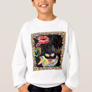 Throwing Kisses and I LOVE Yous Sweatshirt